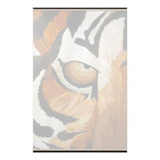 Tiger's Eye (Acrylic by Kimberly Turnbull Art) Stationery