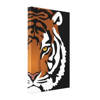 Tigers Eye Canvas Prints