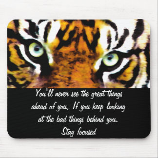 TIGER'S EYE'S_ MOUSE PAD