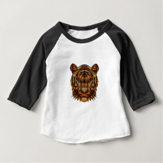 Tiger's Head 1a Baby T-Shirt
