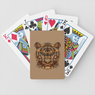 Tiger's Head 1a Bicycle Playing Cards
