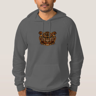 Tiger's Head 1a Hoodie