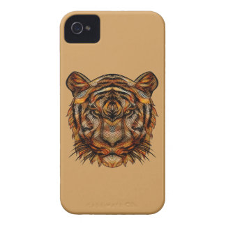 Tiger's Head 1a iPhone 4 Covers