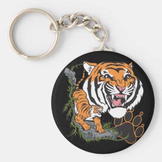 Tigers Key Ring