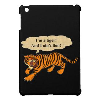 Tigers, Lions and Puns iPad Mini Covers