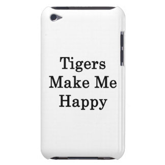 Tigers Make Me Happy iPod Touch Case-Mate Case