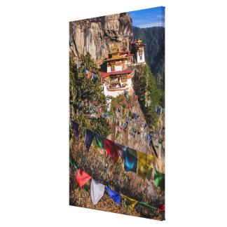Tiger's Nest Monastery, Bhutan Canvas Print