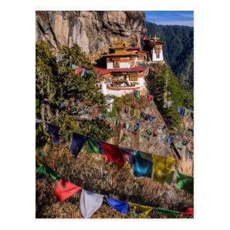 Tiger's Nest Monastery, Bhutan Postcard