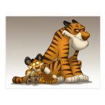 Tigers on a Postcard
