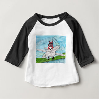 Tiger's Plane Baby T-Shirt