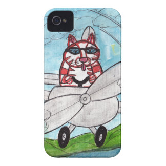 Tiger's Plane Case-Mate iPhone 4 Case