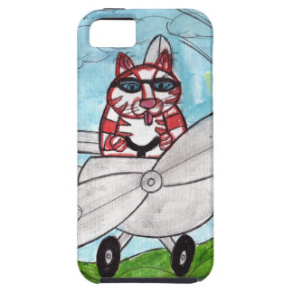 Tiger's Plane iPhone 5 Cases