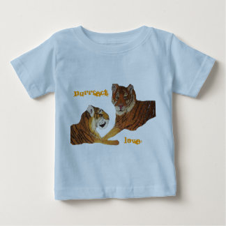 Tigers Purrfect Love Baby T-Shirt