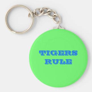 TIGERS RULE KEY RING