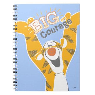 Tigger   Big Courage Note Book