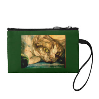 tiggy kitty clutch change purses