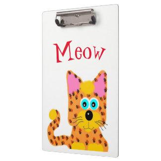 Tiggy Kitty Doodle Clipboard