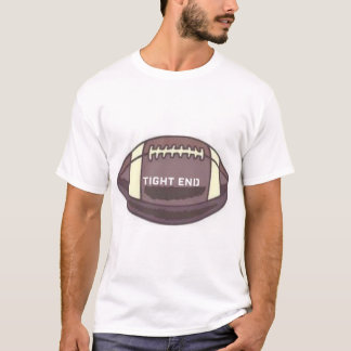 TIGHT END FOOTBALL GRAPHIC PRINT T-Shirt