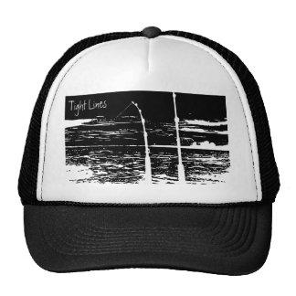 """Tight Lines"" Trucker Cap Mesh Hat"