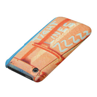 Tight Lines zz blue orange sky fishing rod fishing Case-Mate iPhone 3 Cases