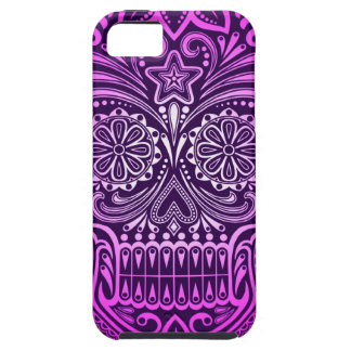 Tight Purple Sugar Skull iPhone 5 Cases