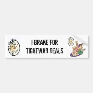TIGHTWAD GRANNY Bumper Sticker