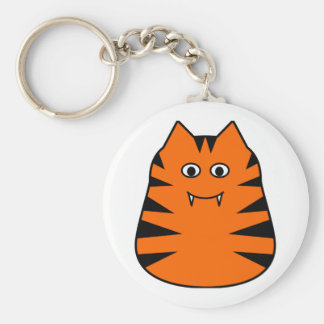 Tigr - Cute Tiger Key Ring