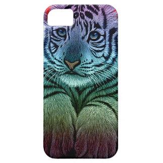 tigre multi colors étuis iPhone 5
