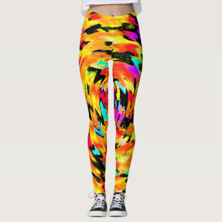 Tigress Abstract Leggings