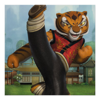 Tigress Kick Poster