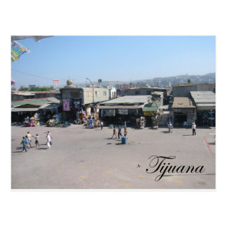 Tijuana Mexico 2 Postcard
