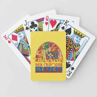 TIJUANA Mexico Bicycle Playing Cards