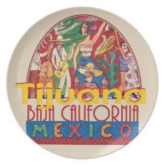 TIJUANA Mexico Plate