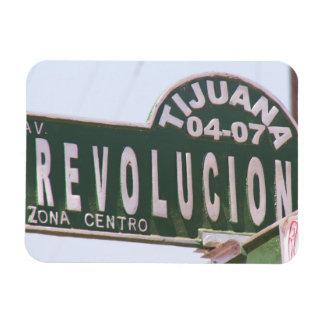 Tijuana Revolution Street Sign Magnet