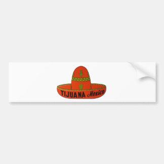 Tijuana Sombrero Travel Sticker