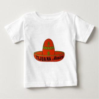 Tijuana Sombrero Travel Sticker Baby T-Shirt