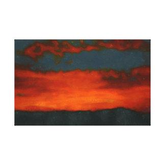 Tijuana Sunset Canvas Print