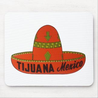 Tijuana Travel Sticker Mouse Pad