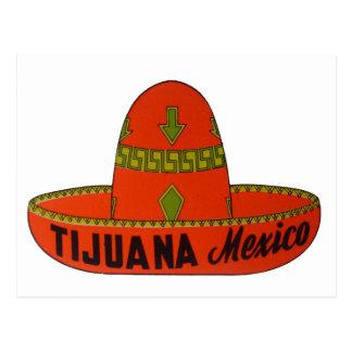 Tijuana Travel Sticker Postcard