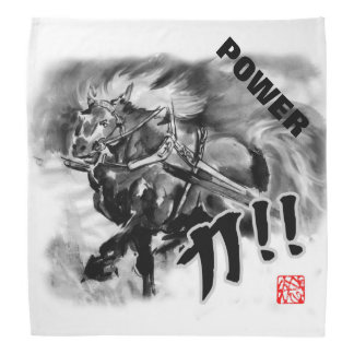 """Tikara""=「力」 means Power Head Kerchief"