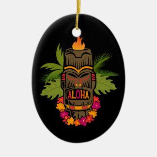 Tiki Aloha Ornament