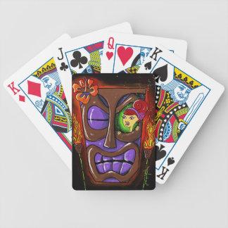 "TIKI bar playing cards. ""In the Eye of the Tiki"" Poker Deck"