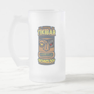 Tiki Bar Technology Frosted Mug