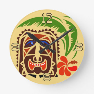Tiki Club Clock