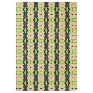 Tiki design#1 wood poster