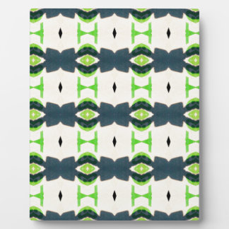 Tiki design pattern photo plaque