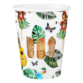 Tiki Party Cups
