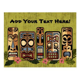 Tiki Party Postcard