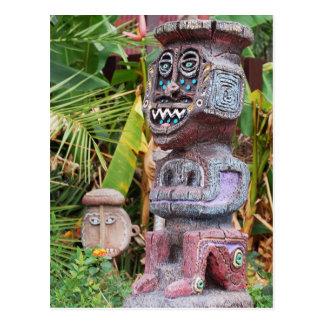 Tiki Postcard
