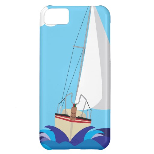 Tiki Sail Boat Case For iPhone 5C